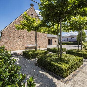 Klassiek landelijke tuin