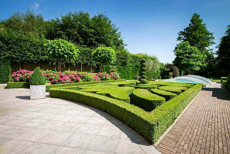 Ontwerp tuin klasiieke tuin