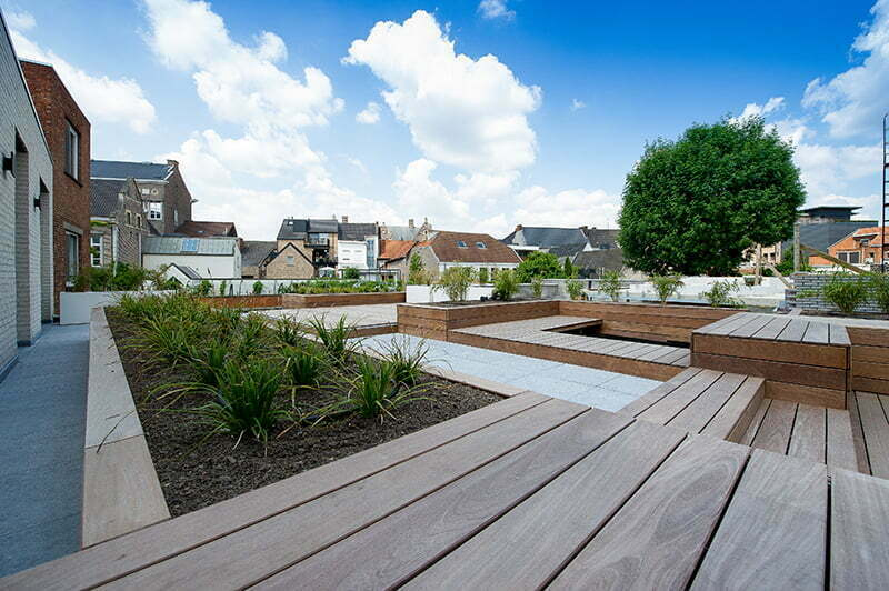Stadstuin tuinarchitectuur
