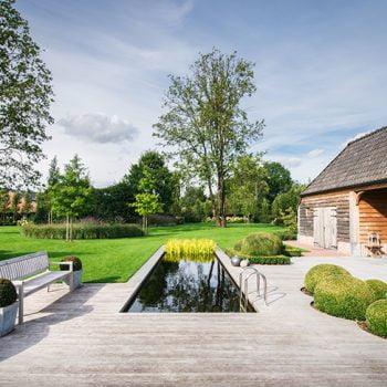 Tuin architectuur Tielt-Winge